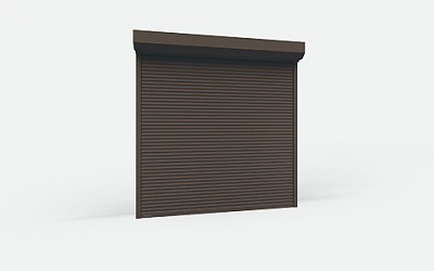 Counter Shutters of RHS52 Steel Profile