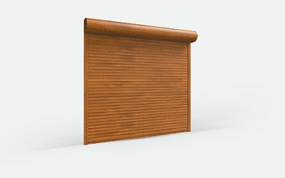 Burglary Resistant Rolling Shutters of RHE45 Extruded Profile